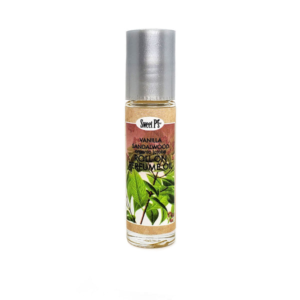 Roll-on Perfume Oil - Vanilla/Sandalwood