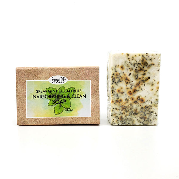 Boxed Soap - Spearmint Eucalyptus (Stress Relief)