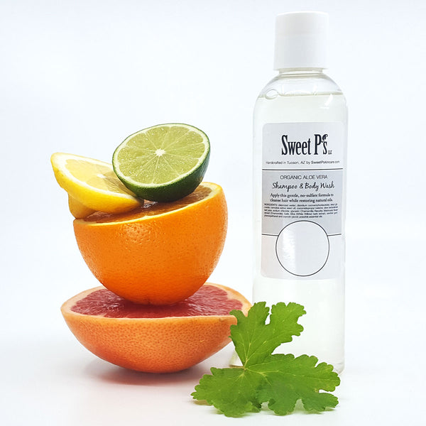 Shampoo & Body Wash - Citrus