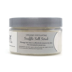organic exfoliating salt scrub that also moisturizes