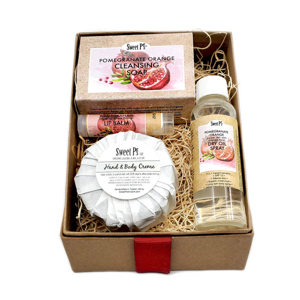 Sweet Treat Spa Set - Pomegranate/Orange