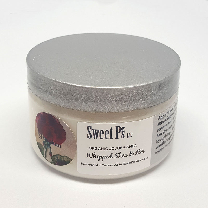 Whipped Shea Butter - Geranium (For Mature Skin)