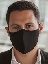 Anti-Viral Black Unisex Mask (kills 99.99% Covid-19 virus on contact*)