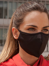 Anti-Viral BREATHE BETTER Black Unisex Mask (kills 99.99% Covid-19 virus on contact*)