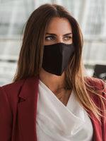 Anti-Viral SKIN CARE Black Unisex Mask (kills 99.99% Covid-19 virus on contact*)-3