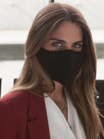 Anti-Viral SKIN CARE Black Unisex Mask (kills 99.99% Covid-19 virus on contact*)-9