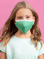 Anti-Viral Green KIDS Mask (kills 99.99% Covid-19 virus on contact*)-3