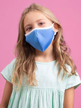 Anti-Viral Blue KIDS Mask (kills 99.99% Covid-19 virus on contact*)