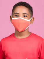 Anti-Viral Coral KIDS Mask (kills 99.99% Covid-19 virus on contact*)