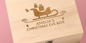 Wooden Christmas Eve Boxes