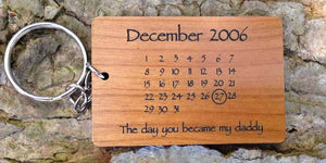Personalised Wooden Keyrings