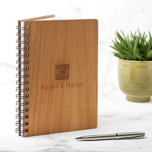 Notebook Planner - Personalised A5 Monogram Note Book, Journal Or Planner