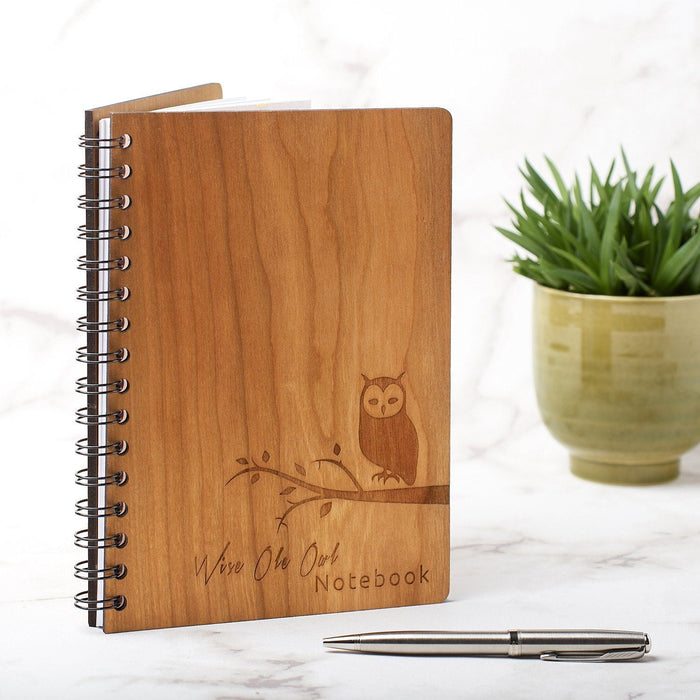 A5 Note Book, Journal, Planner - Owl Design