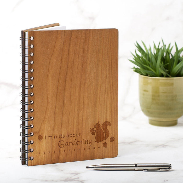 A5 Note Book, Journal, Planner - Squirrel Design