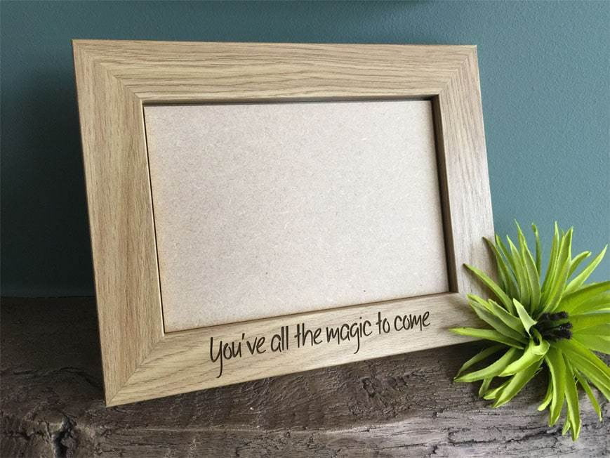 Photo Frame - Personalised Wooden Photo Frame 103