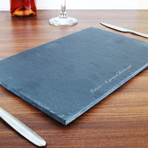 Chopping Board - Personalised Engraved Slate Board