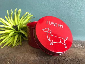 Really Cute Round Metal Trinket Box