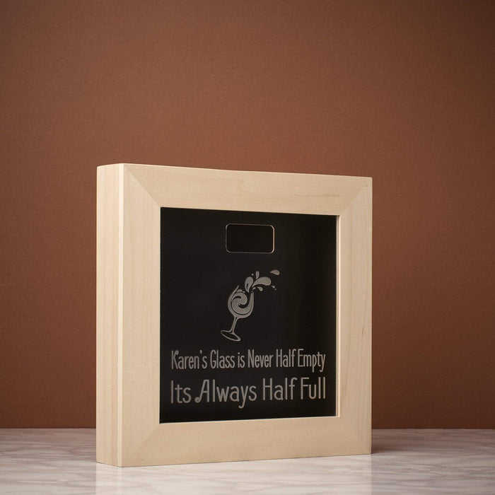 Half Full Memory Box Frame