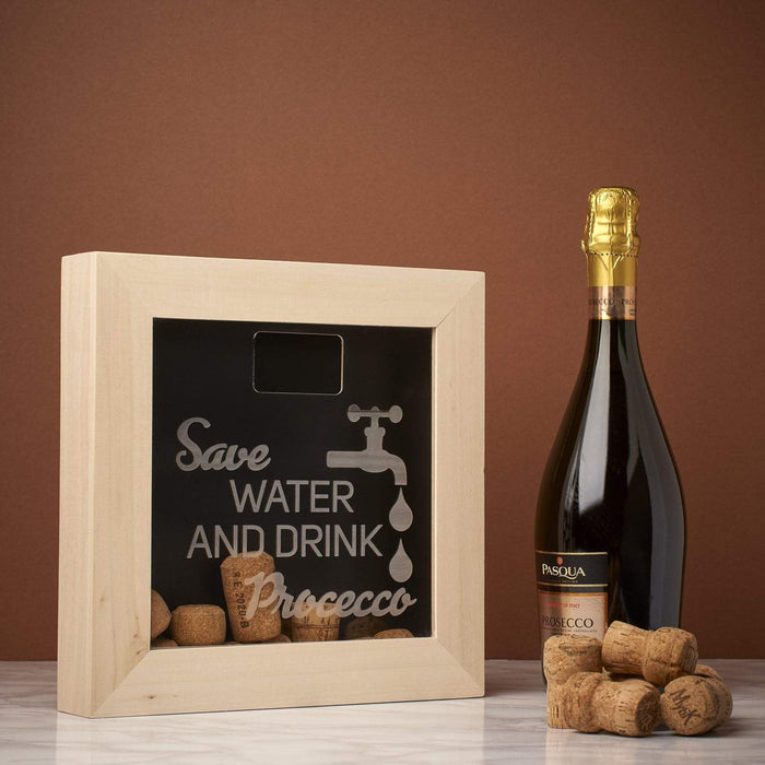 Save Water and Drink ... Memory Box Frame