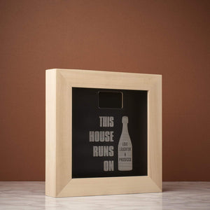 Memory Box Frame - This House Runs On ... Memory Box Frame