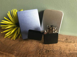 Metal Zippo Style Lighter In Gift Tin And Sleeve 032