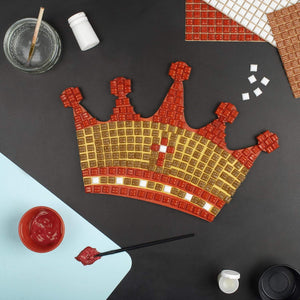 Mosaic Kit - Mosaic Art Kit - Crown