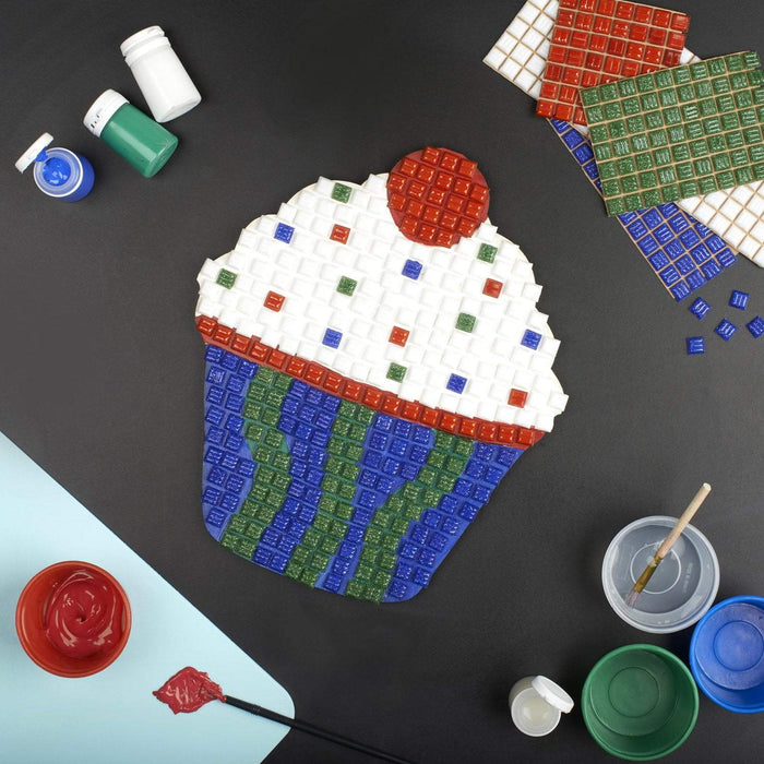 Mosaic Art Kit - Cupcake