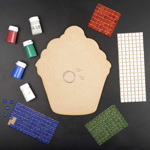 Mosaic Kit - Mosaic Art Kit - Flower