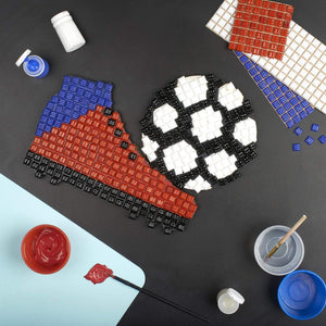 Mosaic Kit - Mosaic Art Kit - Football