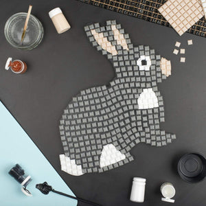 Mosaic Kit - Mosaic Art Kit - Rabbit