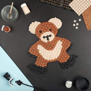 Mosaic Kit - Mosaic Art Kit - Teddy