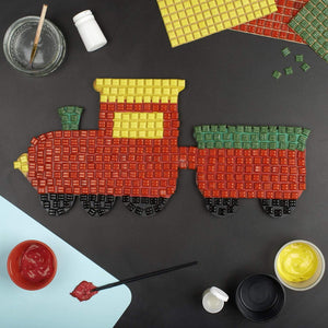 Mosaic Kit - Mosaic Art Kit - Train