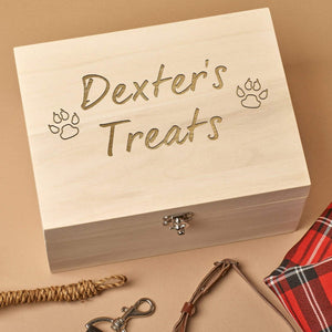 Pet Treat Box - Personalised Pet Treat Box
