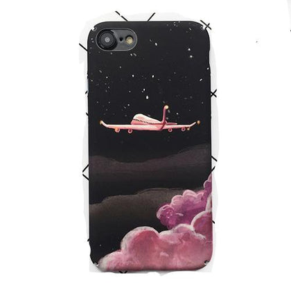 Fashion Space Moons Cartoon Case For iphone - elcmagictraveles