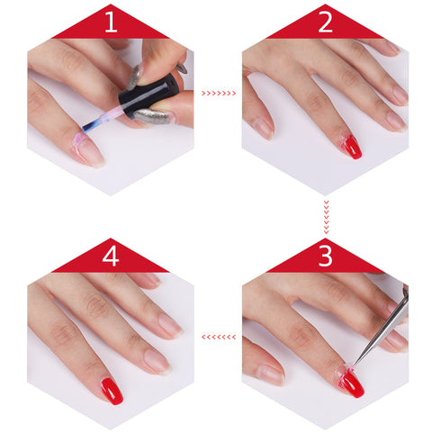 Peel Off Liquid Nail Polish
