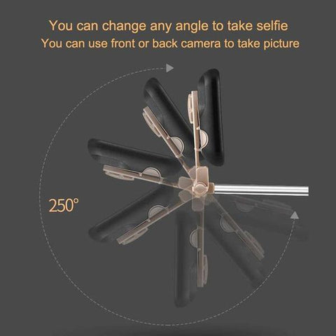 Selfie Stick Case for iPhone: Perfect for taking selfies anytime, anywhere!