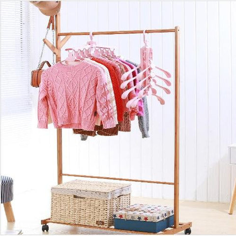 Multi-Function Folding Hanger - Save 8x more space with only 1 hanger!
