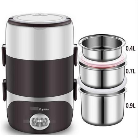 Mini Portable Steam Cooker - Keep your food warm anywhere !