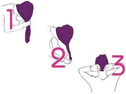 Hair Drying Towel: Let your hair dry naturally without damaging them. HANDS-FREE! Strong Tie!