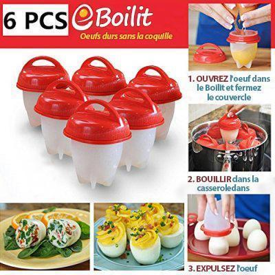 Buy 1 get 5 free! Bulk lot of Egg Boilers – a whole new way to make hardboiled eggs! Free express delivery