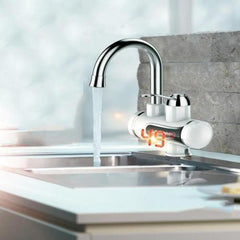 Instant Water Faucet Heater: Hot water whenever you need it!