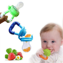 Fresh Food Baby Pacifiers - This pacifier will slowly release the fruit into a chewable form!