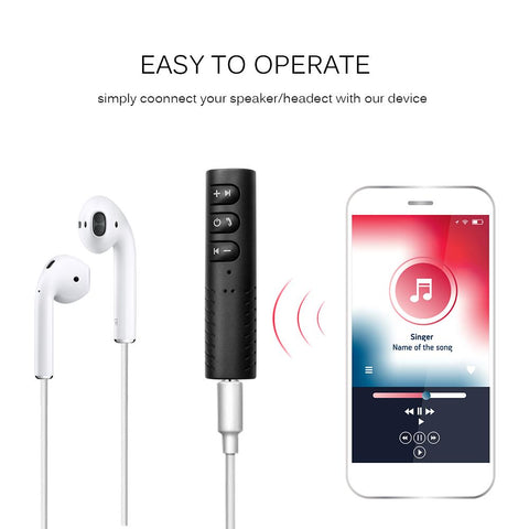 3.5mm Jack to Bluetooth Adapter