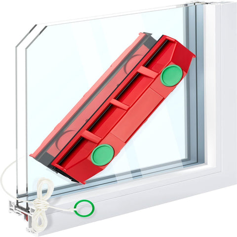 The magnetic window cleaner: clean your windows 2x faster and without danger!