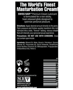 Swiss Navy Premium Masturbation Cream - 5 oz Tube | Lavish Sex Toys
