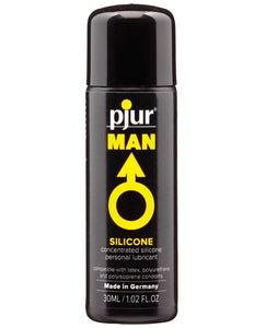 Pjur Man Silicone Personal Lubricant - 30 ml Bottle | Lavish Sex Toys