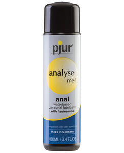 Pjur Analyse Me Water Based Personal Lubricant - 100 ml Bottle