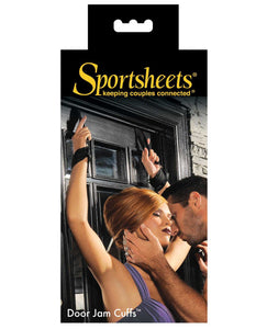 Sportsheets Door Jam Cuffs | Lavish Sex Toys