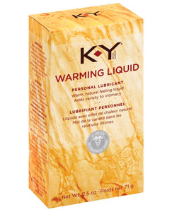 K-Y Warming Liquid - 2.5 oz | Lavish Sex Toys