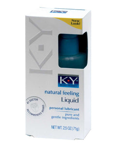 K-Y Natural Feeling Liquid - 2.5 oz | Lavish Sex Toys